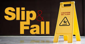 Trip and fall premises liability case